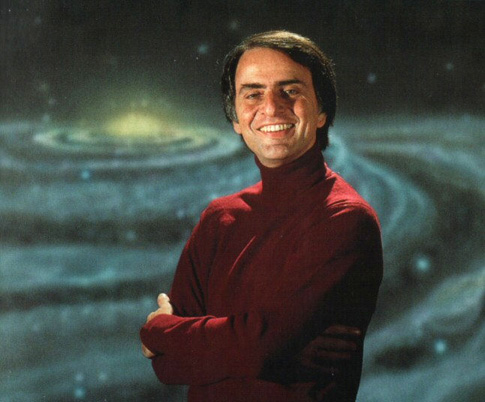 Carl Sagan's Turtleneck